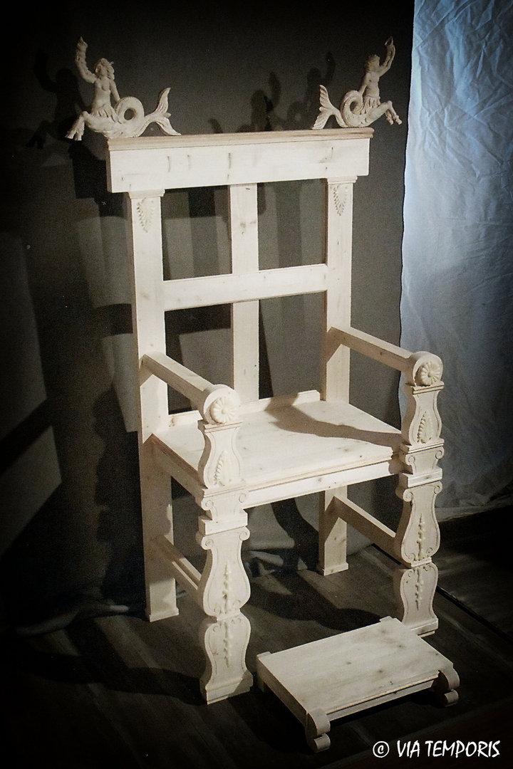 Great Luxury Throne Via Temporis