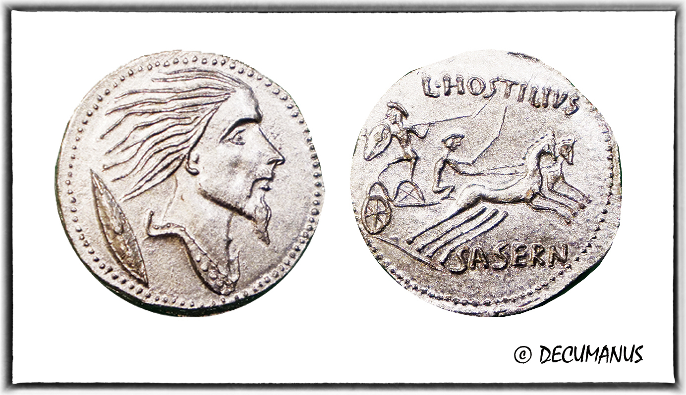 DENARIUS OF VERCINGETORIX - REPRODUCTION