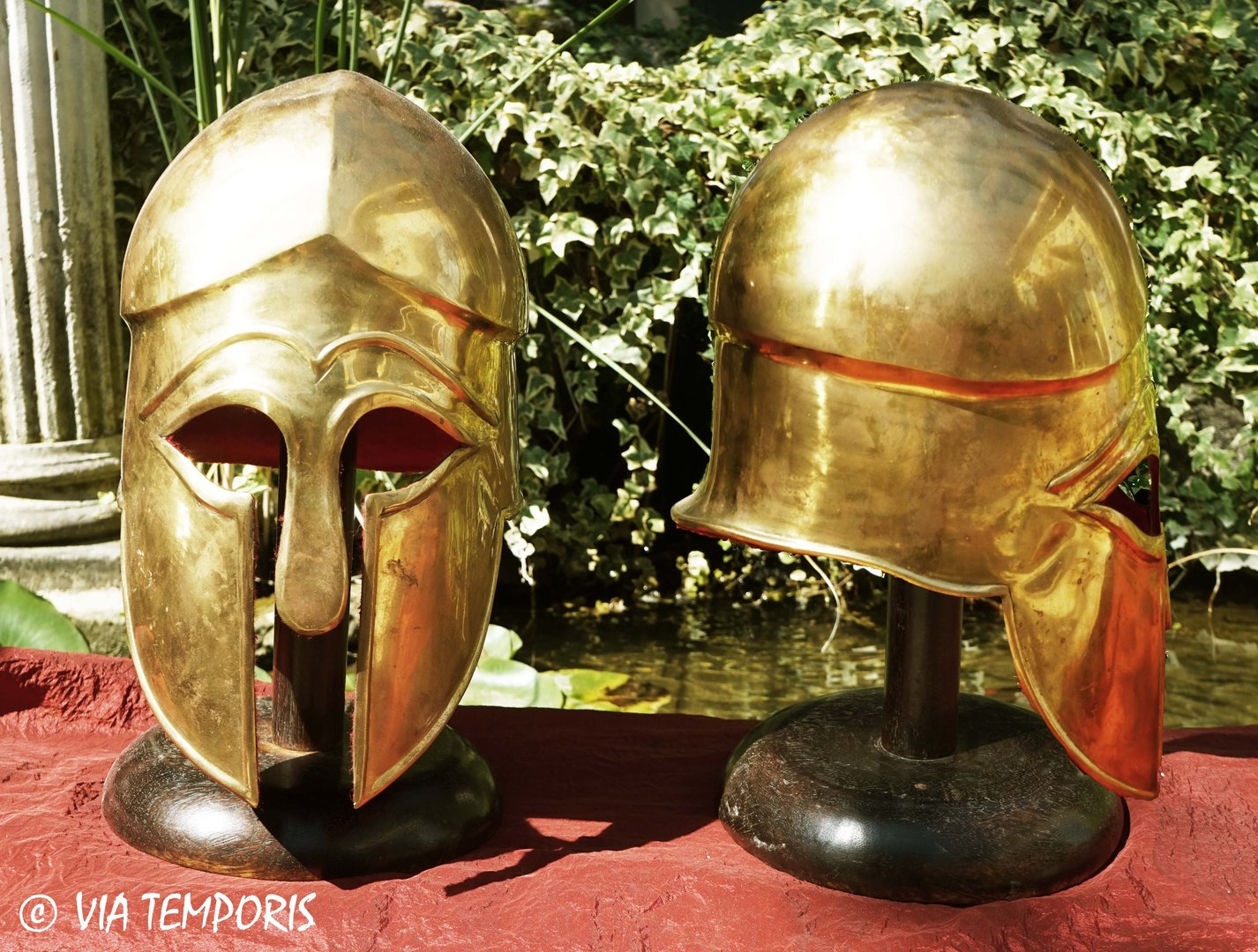 GREEK - CORINTHIAN BRASS HELMET MK I