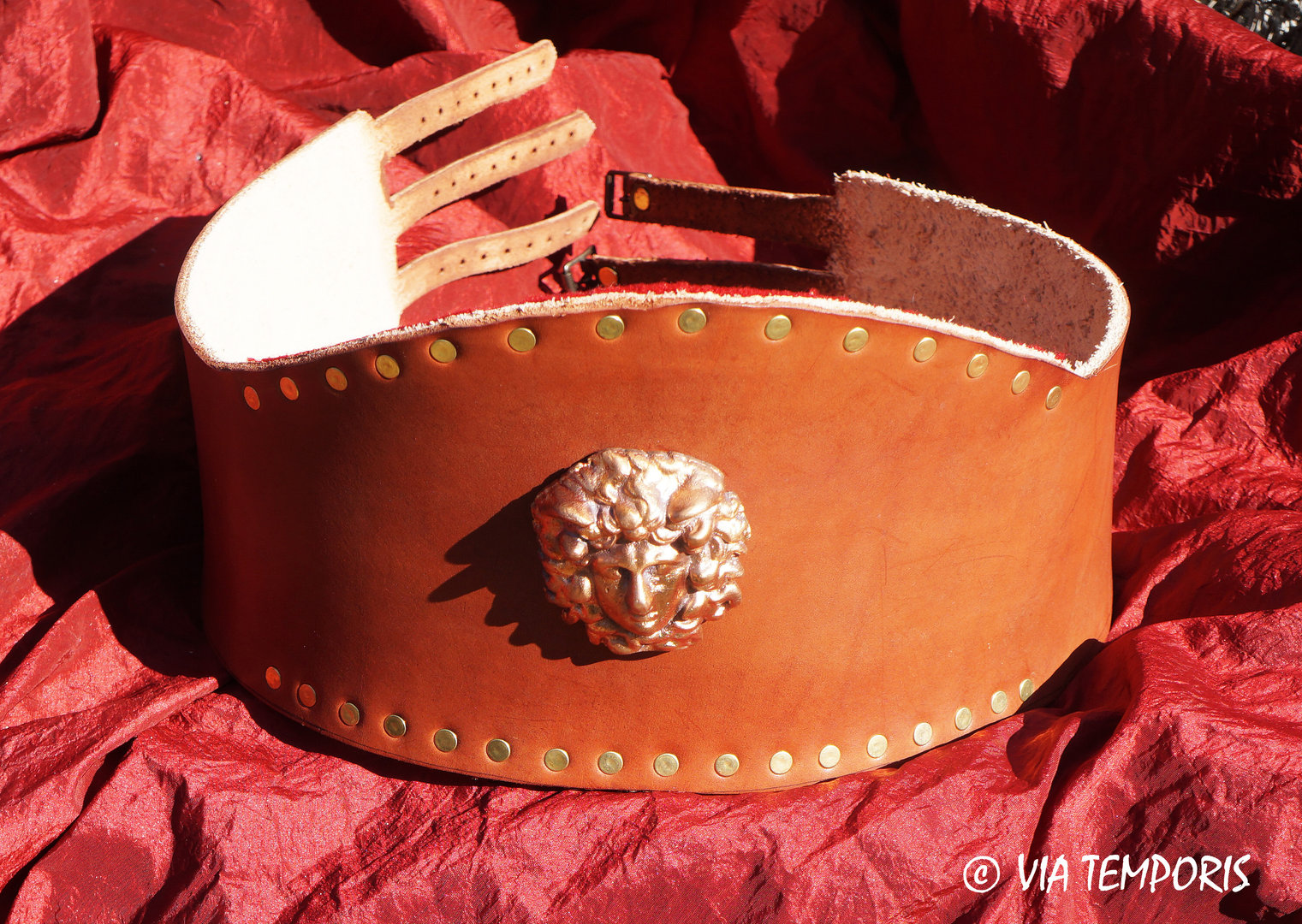 GLADIATOR AMELIORATED BELT IN LEATHER Mod I