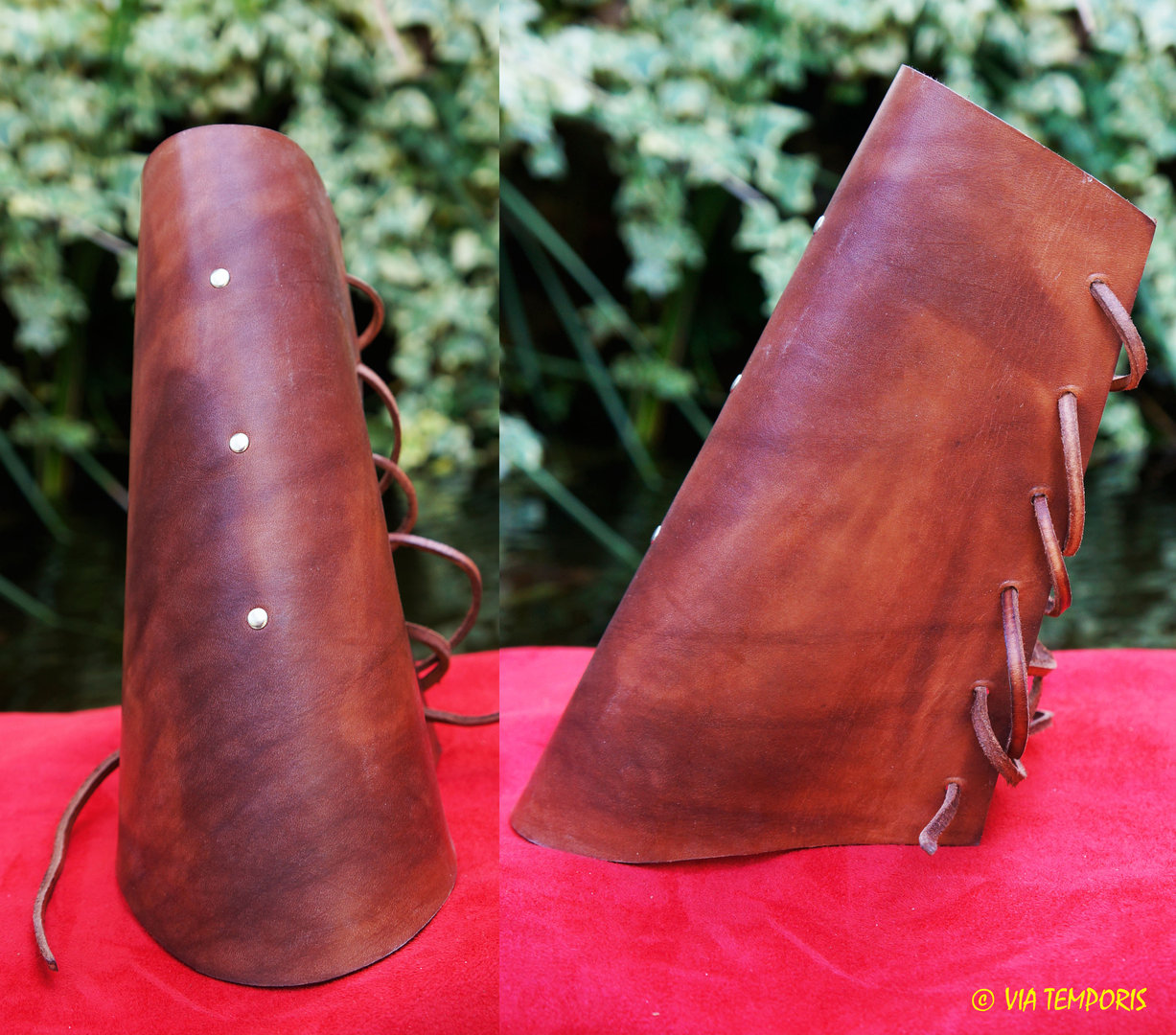 PAIR OF LEATHER ARMLET (MK I)