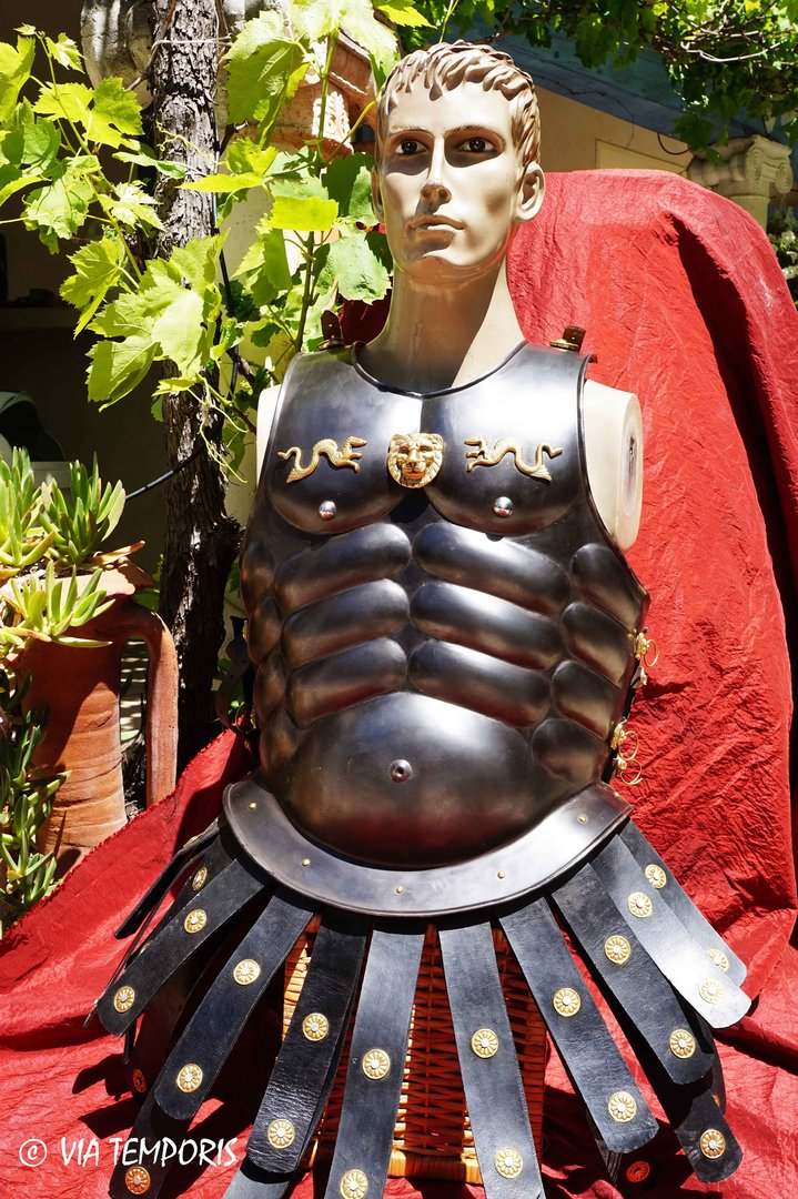 GREEK OR ROMAN METAL CUIRASS