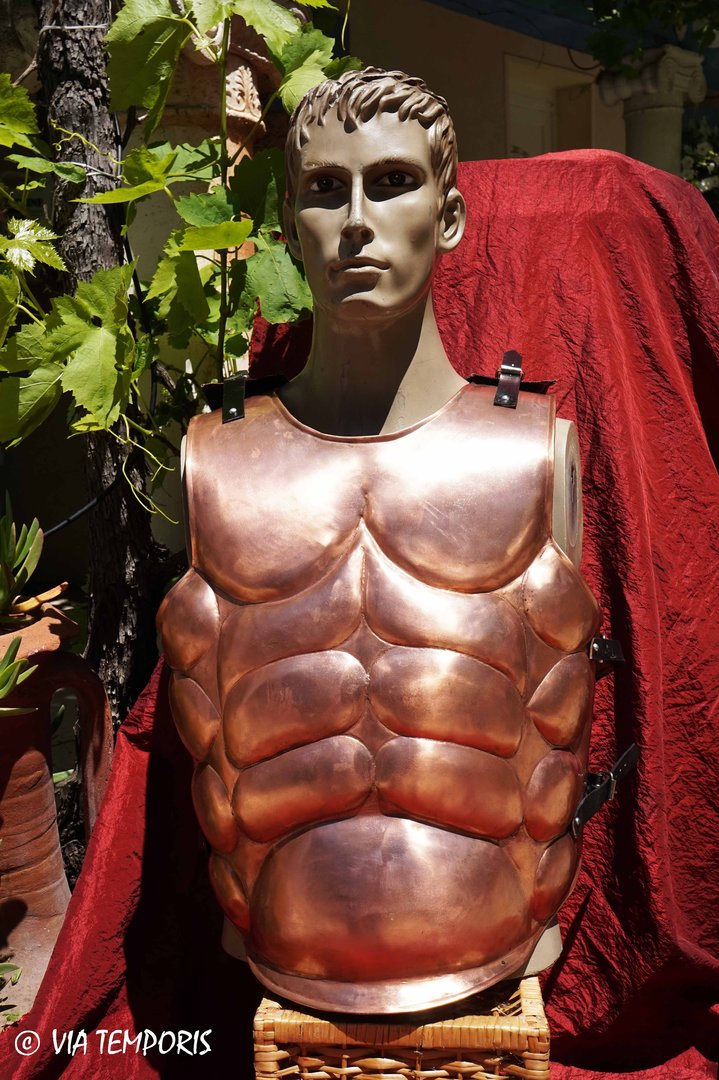 ROMAN OR GREEK MUSCULATA CUIRASS BRONZE FINISH