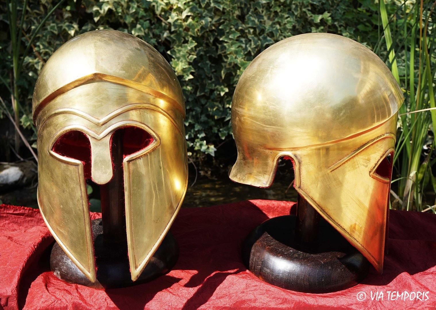 GREEK - CORINTHIAN BRASS HELMET MK II