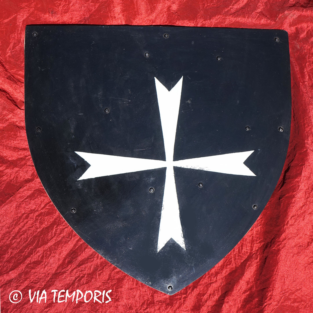 MEDIEVAL SHIELD - ORDER OF THE KNIGHTS HOSPITALLERS I