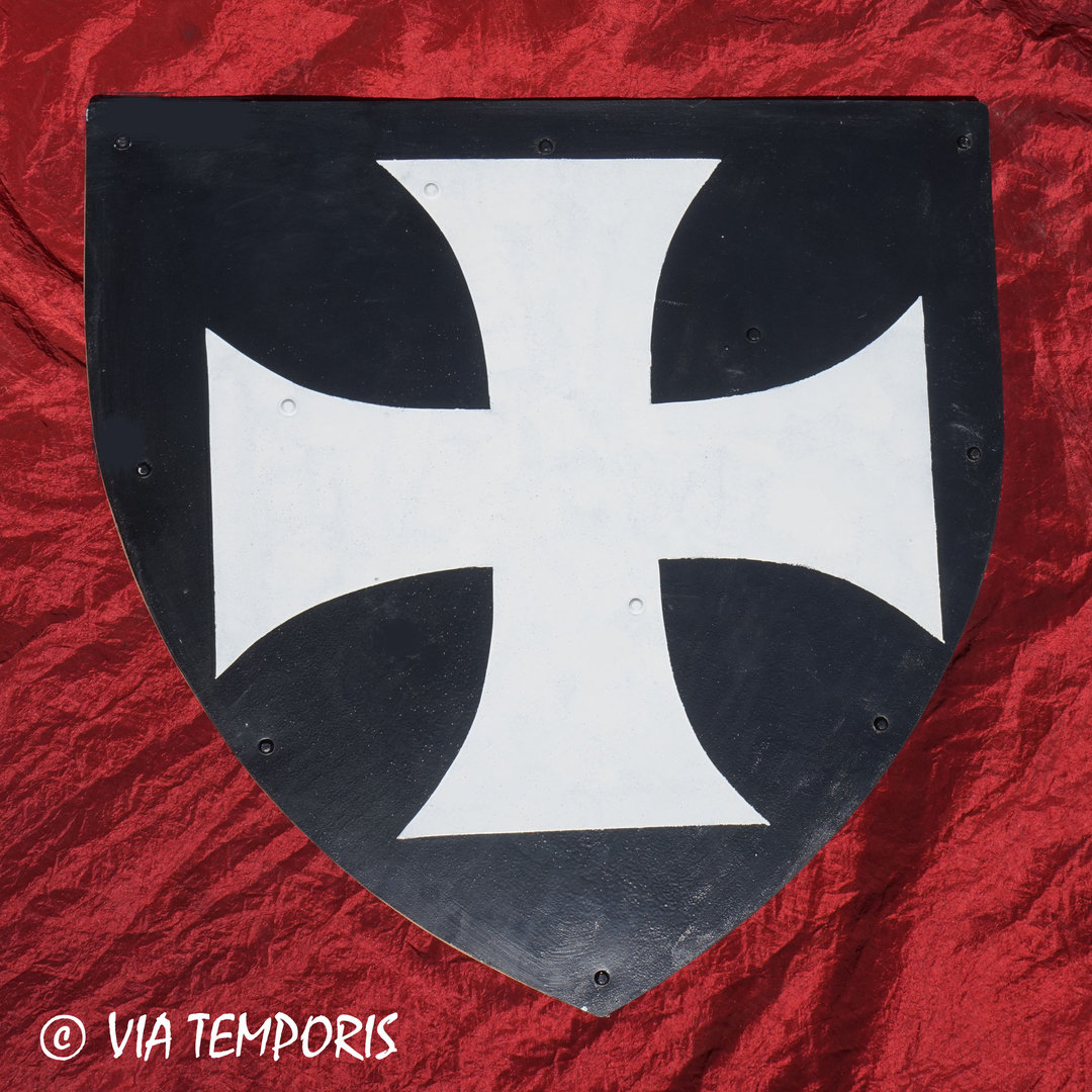 MEDIEVAL SHIELD - ORDER OF THE KNIGHTS HOSPITALLERS III