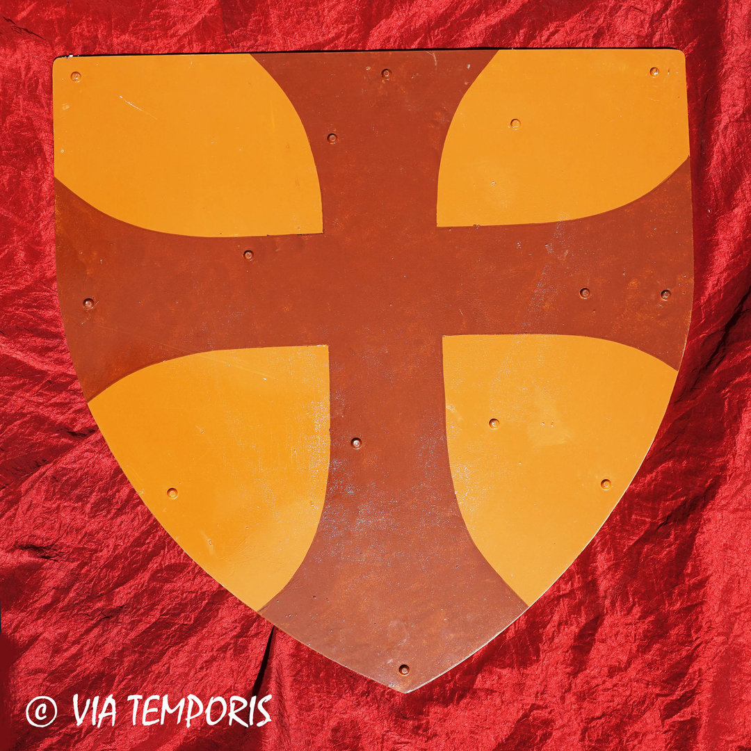 MEDIEVAL SHIELD - ORDER OF THE KNIGHTS TEMPLAR I