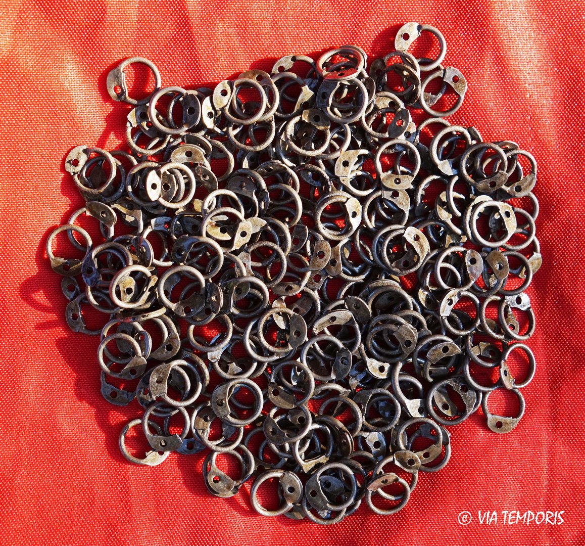 RINGS 6 MM ROUND RIVETING FOR LORICA HAMATA (250 g.)