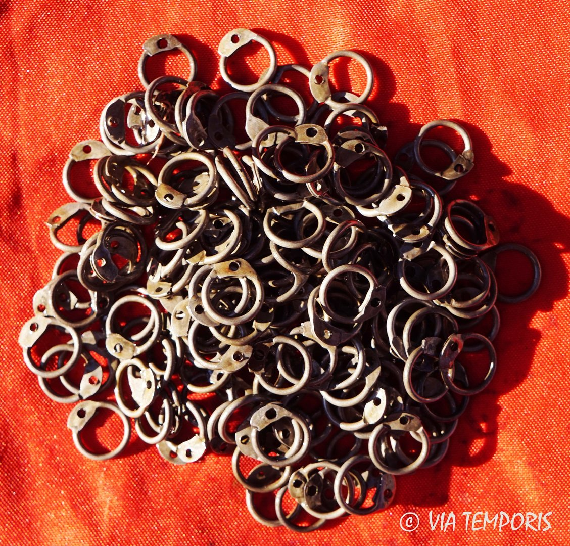 RINGS OF LORICA HAMATA ROUND 8 MM TO RIVET (250g.)