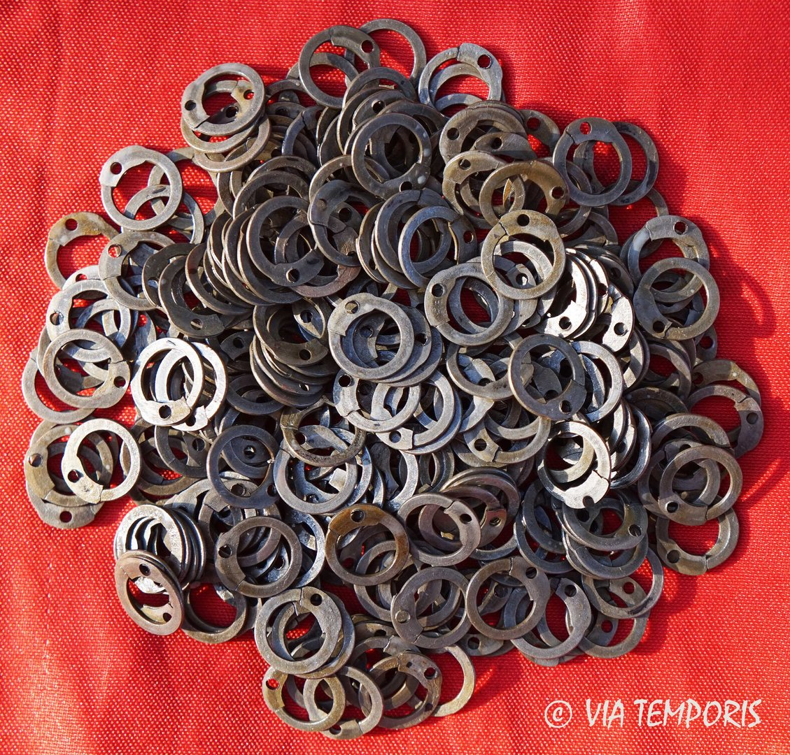 RINGS OF LORICA HAMATA 8 MM TO RIVET (250g.)