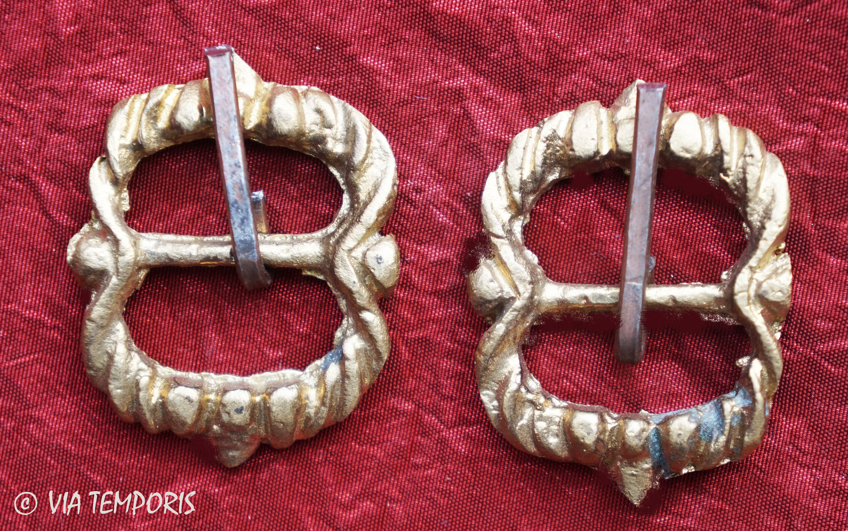 SET OF 2 MEDIEVAL BELT BUCKLES (MK II)