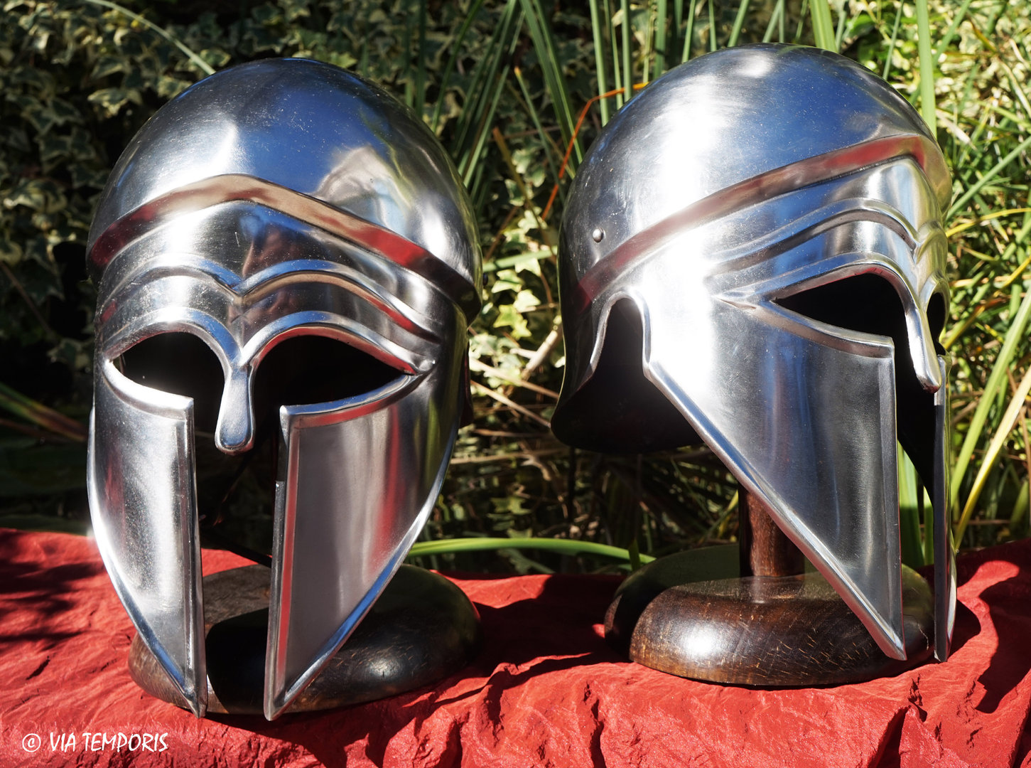 GREEK - CORINTHIAN IRON HELMET MK III