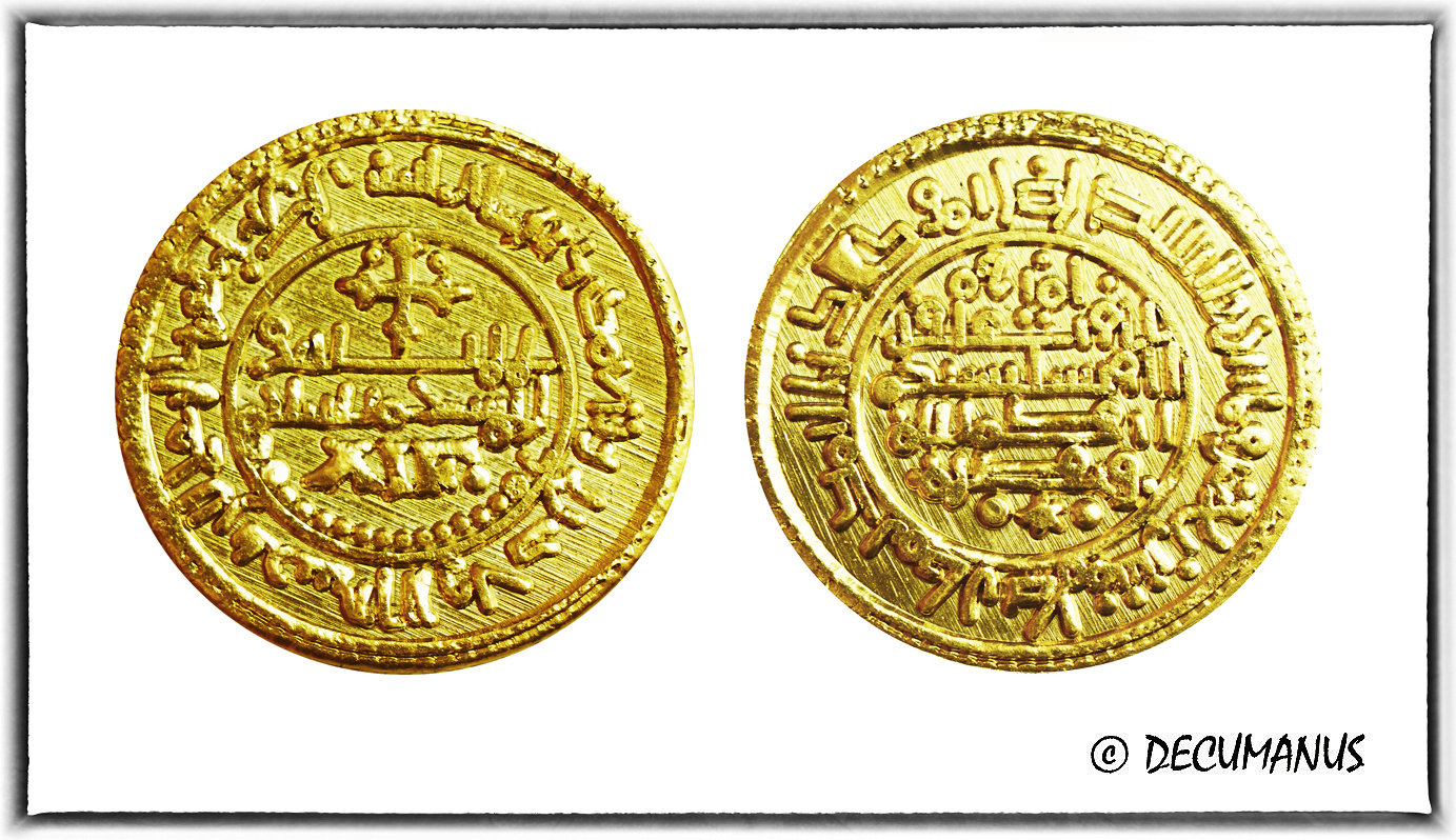DOUBLE MANCUSE OF ALFONSE VIII OF CASTILE - REPRODUCTION