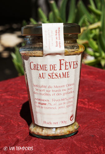CUISINE ANTIQUE - MEZZE DE FEVES AU SESAME