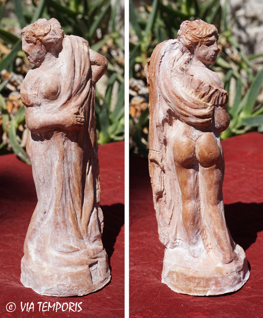 GALLO-ROMAN CERAMIC - GODDESS VENUS STATUETTE