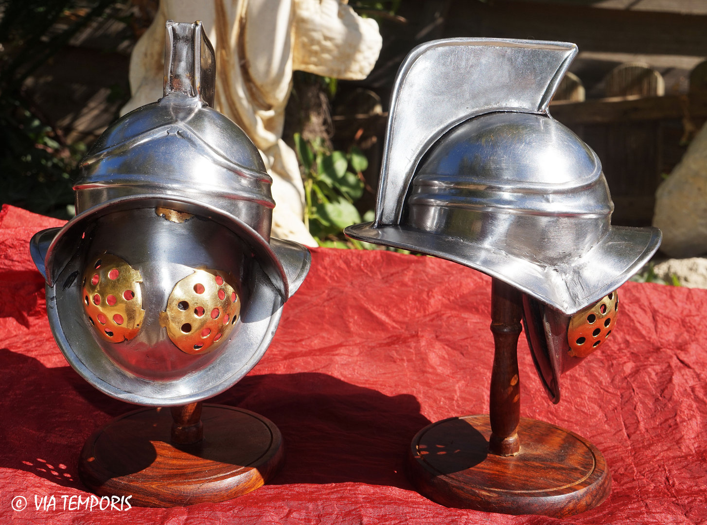 MINI MIRMILLON GLADIATOR HELMET