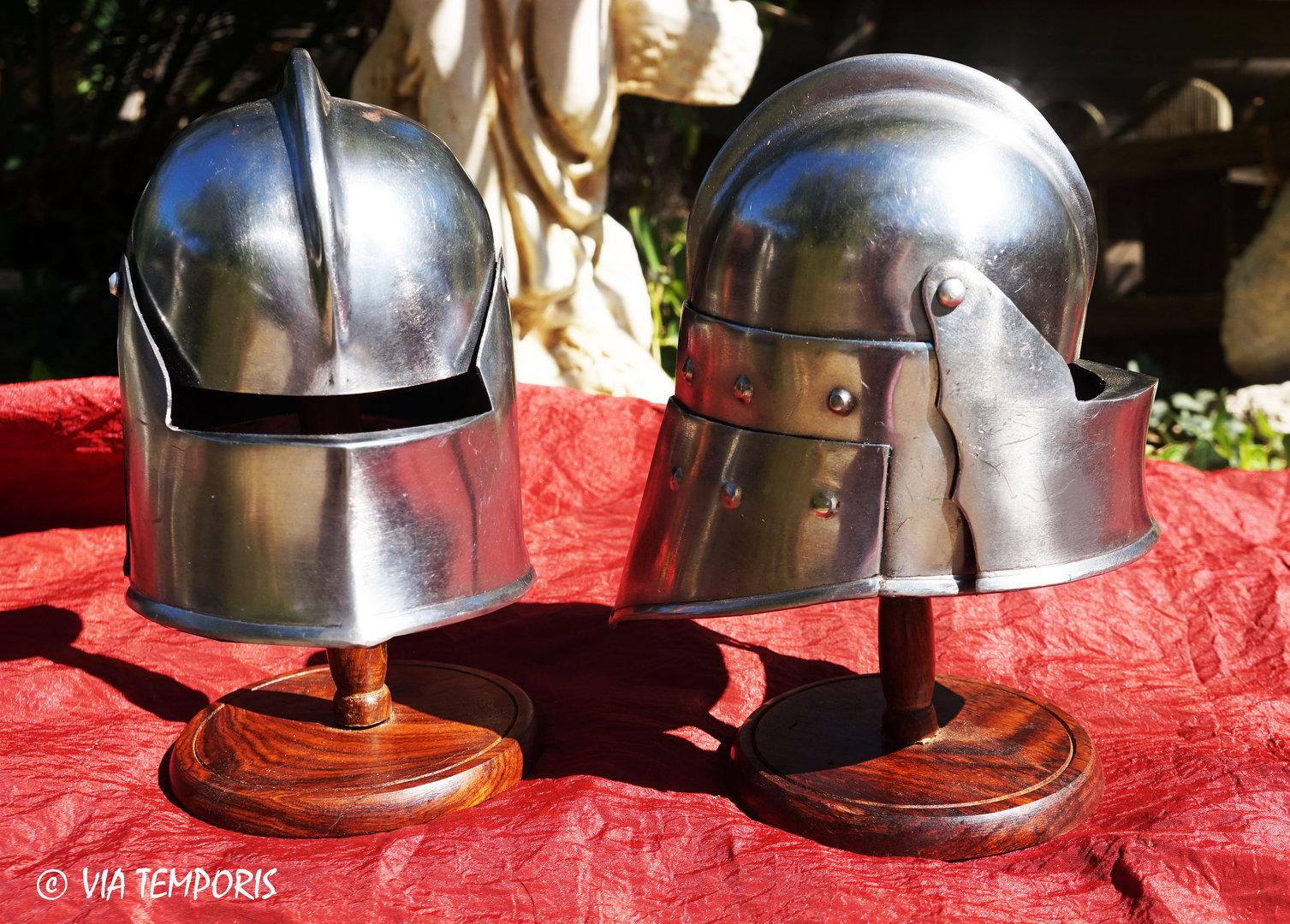 MINI HELMET SALLET WITH VISOR
