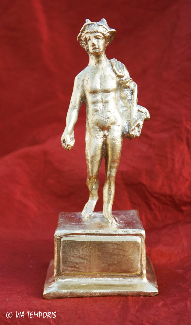 GALLO-ROMAN BRONZE - STATUETTE OF THE GOD MERCURY