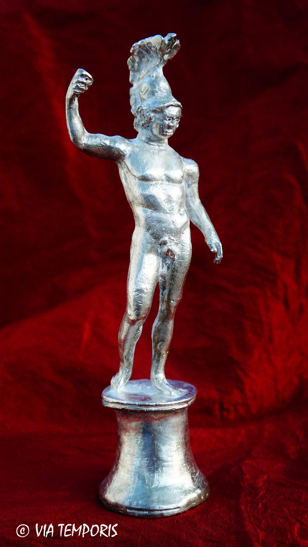 GALLO-ROMAN BRONZE - STATUETTE OF THE GOD MARS