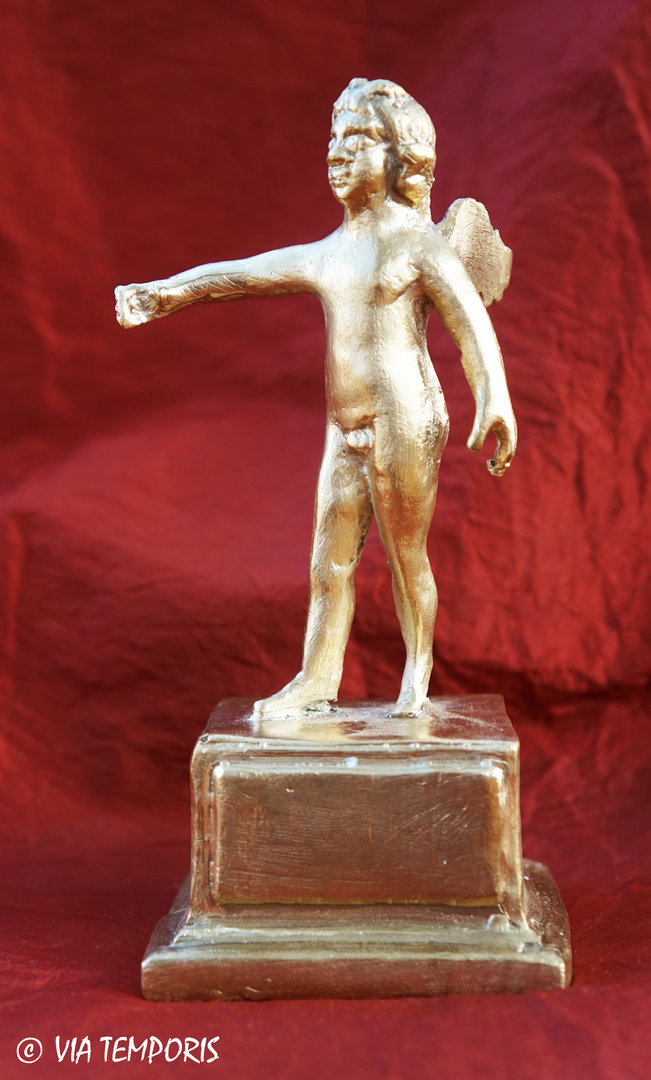 GALLO-ROMAN BRONZE -  STATUETTE OF EROS