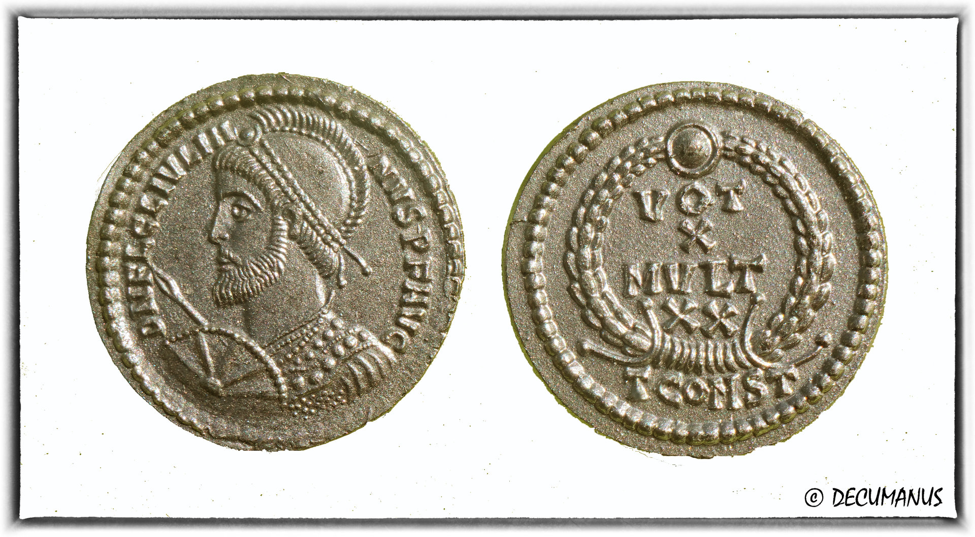 AES 3 OF JULIAN II - REPRODUCTION