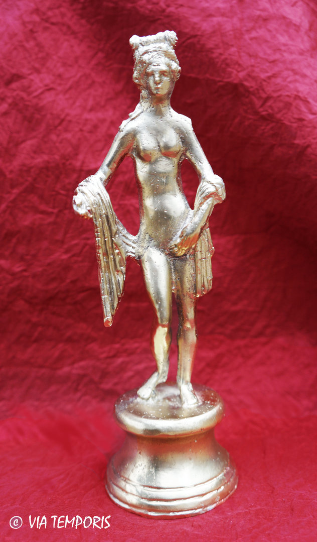 GALLO-ROMAN BRONZE - STATUETTE OF THE GODDESS VENUS - ARLES