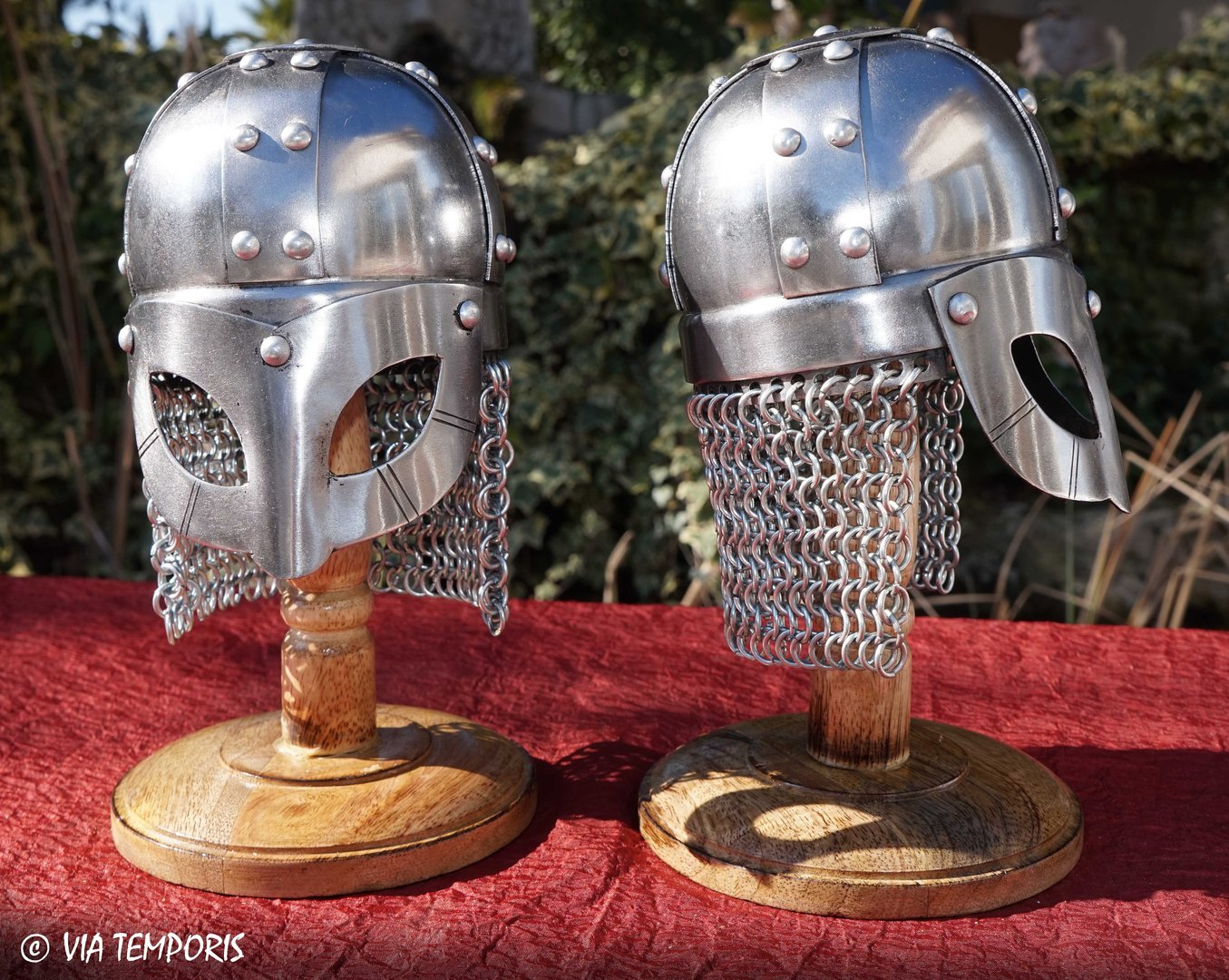 MINI HELMET VIKING WITH CHAINMAIL