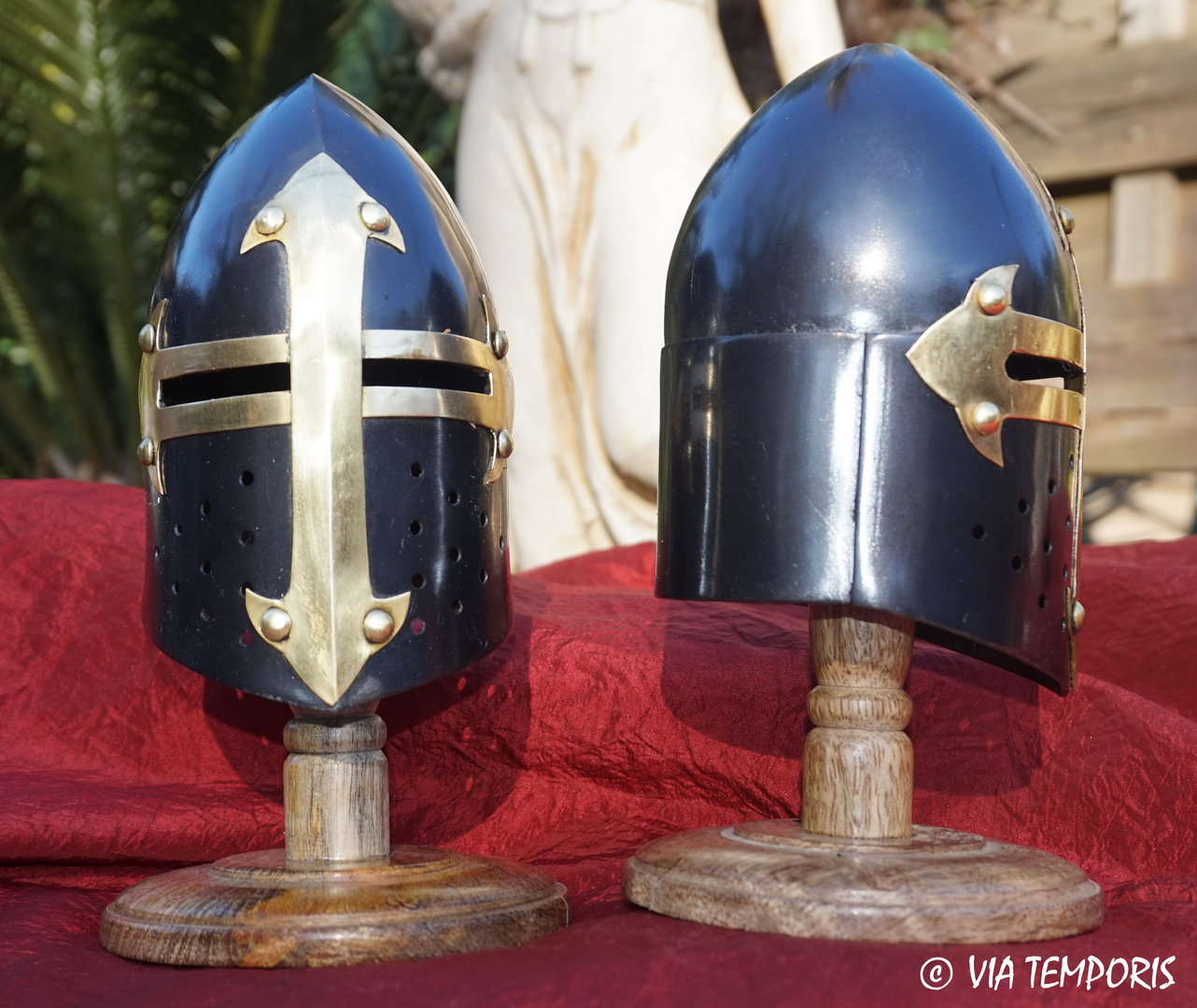 MINI BLACK HELMET OF TEMPLAR (Mk. V)