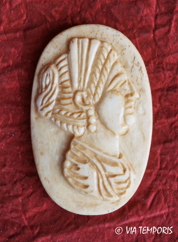 ROMAN BONE APPLIQUE - EMPRESS BUST