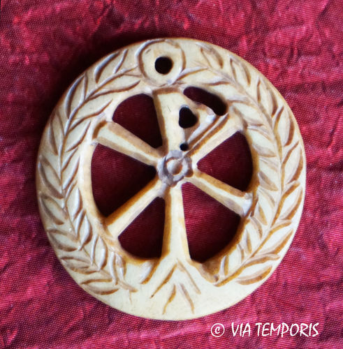 ROMAN BONE PENDANT - CHRISM 1