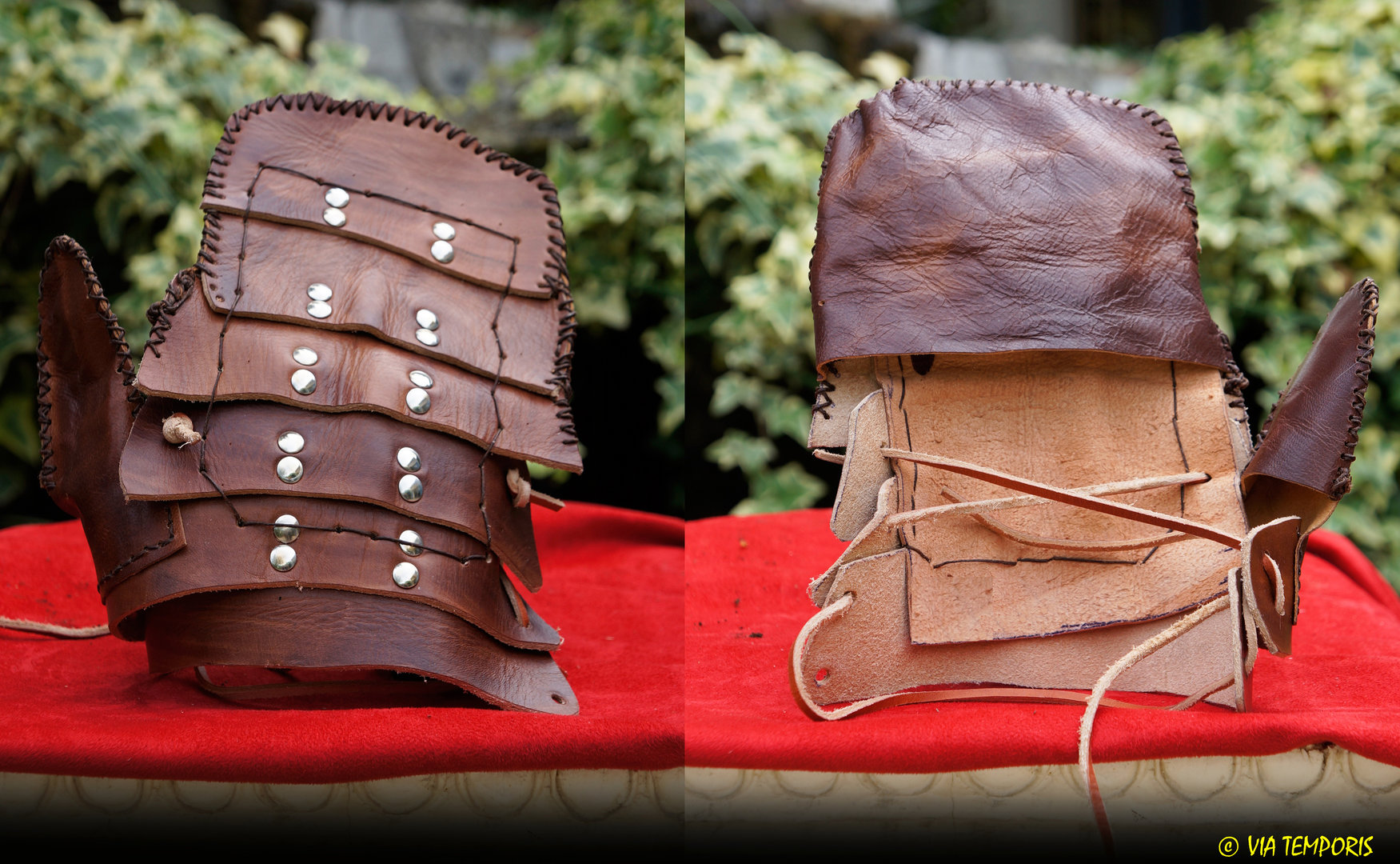 RETIAIRE GLADIATOR GAUNTLET IN LEATHER - RIGHT HAND