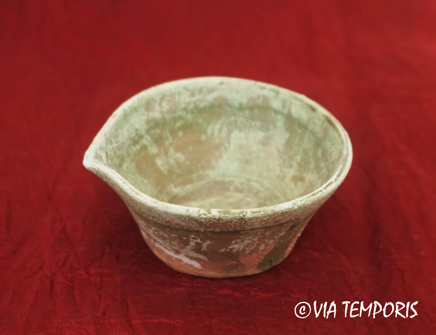 MEDIEVAL POTTERY - MINI MEDIEVAL SOUP PLATE - DINETTE
